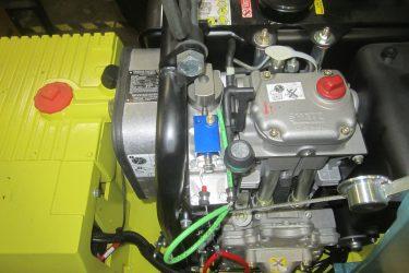 Ammann APH 6530 Compactor Valve Installation Engine View