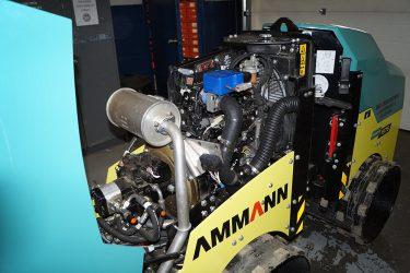 Ammann Rammax 1575 Trench Compactor Valve Installation Engine View