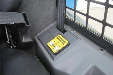 Bobcat T870 Track Loader Dash Control Installation