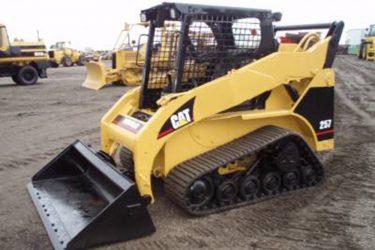 CAT 257D Multi Terrain Loader