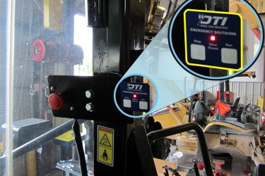 CAT 966H Wheel Loader Valve Installation