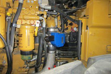 CAT 966H Wheel Loader Valve Installation Engine View