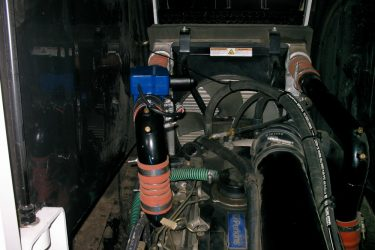 Camoplast GT 1200 Personal Carrier Valve Installation Engine View