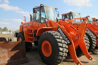 Doosan DL 120 Wheel loader