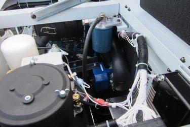 EnPak Air Power 40 Genset Valve Installation Engine View