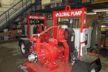 Global Pump High Pressure Trash Pump
