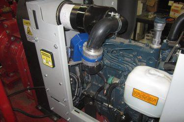 Global Pump High Pressure Trash Pump Valve Installation Engine View