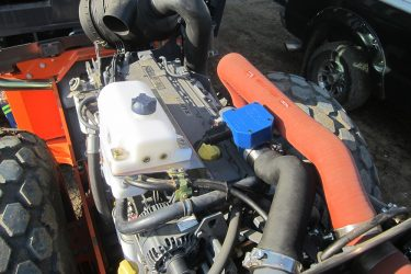 Hamm Compactor 3520 Valve Installation Engine View