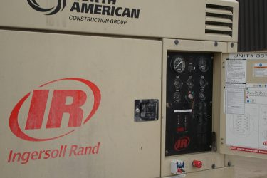 Ingersoll Rand XHP 750 CAT C9 Engine Dash Control Installation