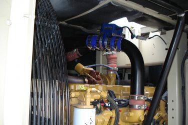 Ingersoll Rand XHP 750 CAT C9 Engine Valve Installation Engine View