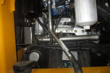JCB 330 Eco Skidsteer Valve Installation Engine View