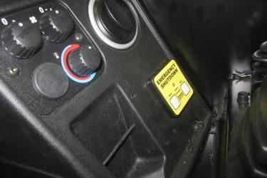 JCB 509-42 Loadall Dash Control Installation