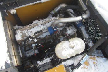 John Deere 210G LC Excavator Valve Installation Engine View