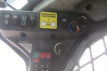 John Deere 323E Skidsteer Dash Control Installation