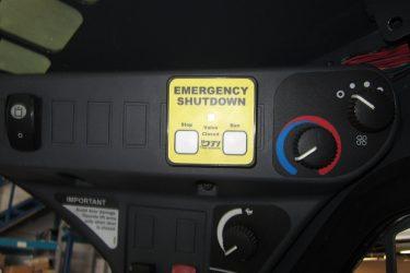 John Deere 328E Skidsteer Dash Control Installation