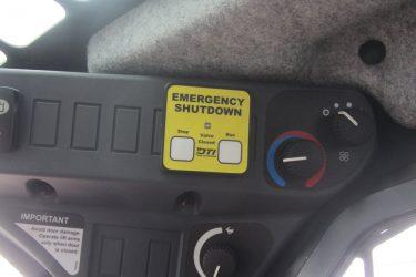 John Deere 329D Skidsteer Dash Control Installation