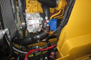 John Deere 332D Skidsteer Valve Installation Engine View