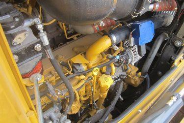 John Deere 850K WLT Dozer Valve Installation Engine View