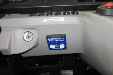 Komatsu HM400 Rock Truck Dash Control Installation