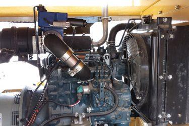 Kubota D1105 Light Tower Valve Installation Engine View