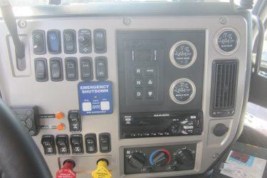 Mack MP10 Dash Control Installation