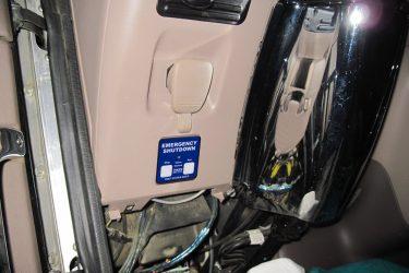 Peterbilt Cat C15 Dash Control Installation