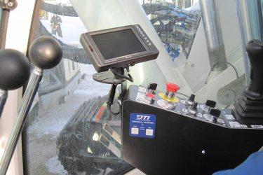 Soilmec SR-90 Drilling Rig Dash Control Installation