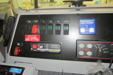 Spartan Cummins ISX Fire Truck Dash Control Installation