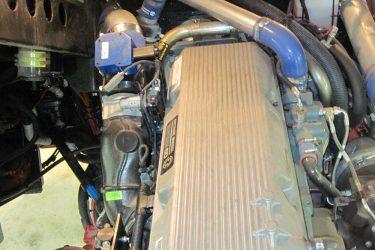 Spartan Fire Truck Detroit 60 Series Valve Installation Engine View