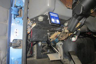 Western Star Cat C15 Dash Control Installation
